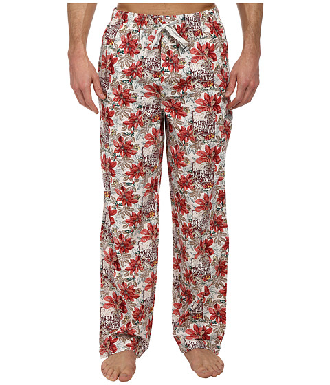 Tommy Bahama - Endless Surf Lounge Pants (Coconut Cream Ivory Plaid) Men's Pajama