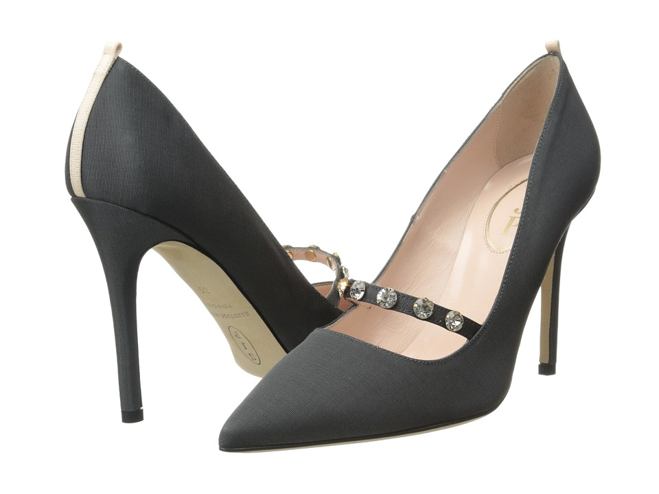 SJP by Sarah Jessica Parker - Daphne 100mm (Dark Grey) High Heels