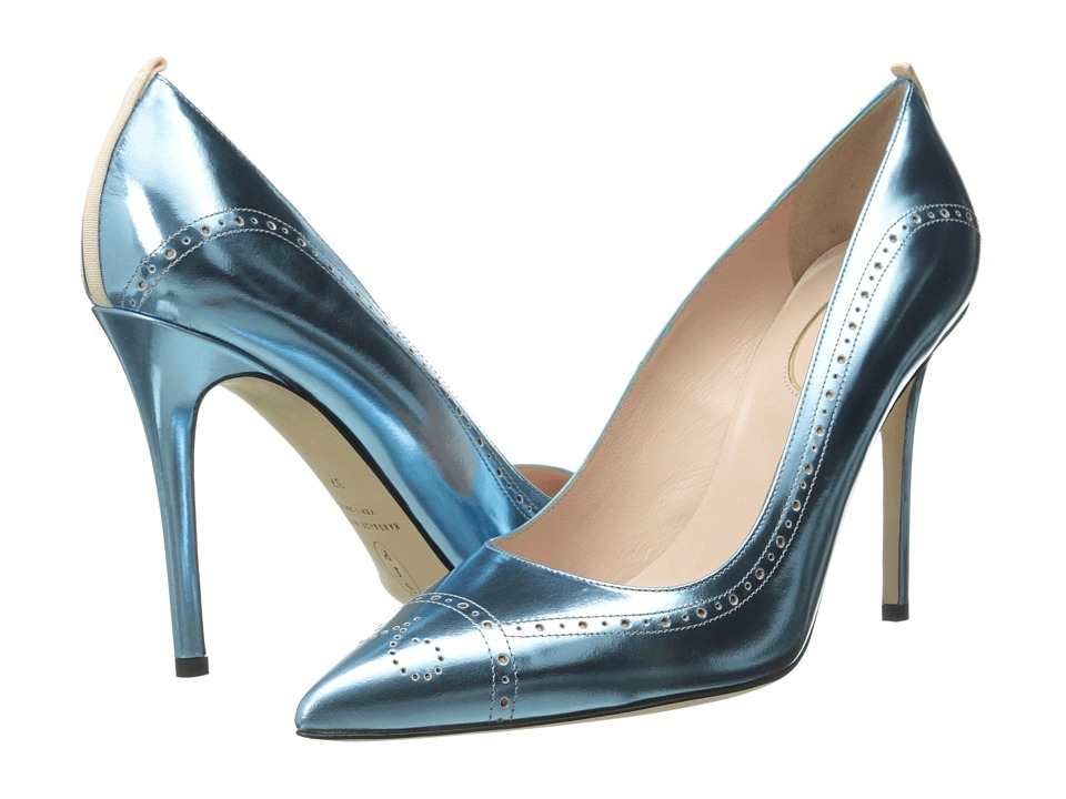 SJP by Sarah Jessica Parker - Marlene (Blue) Women's Shoes