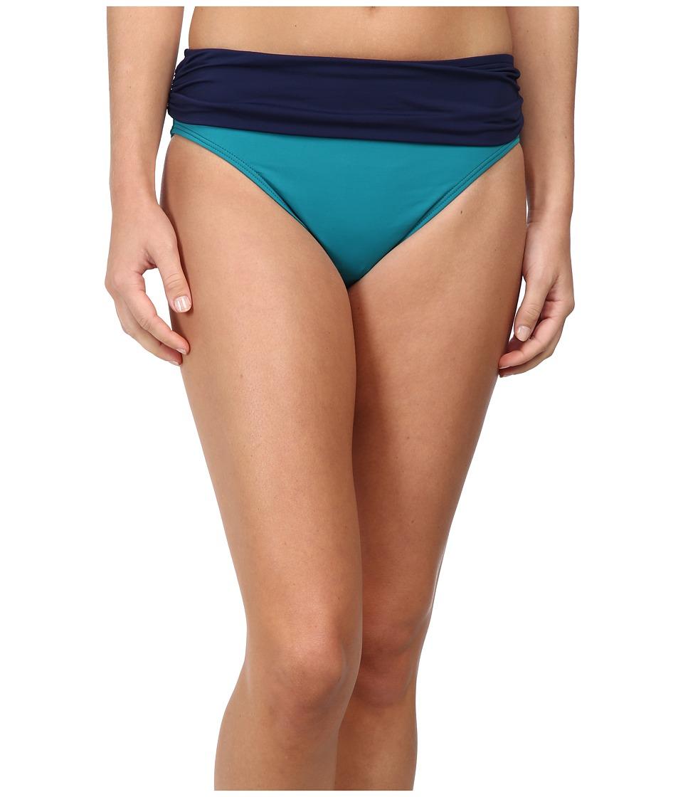 Tommy Bahama - Deck Piping High Waist Sash (Azurite/Mare) Women's Swimwear