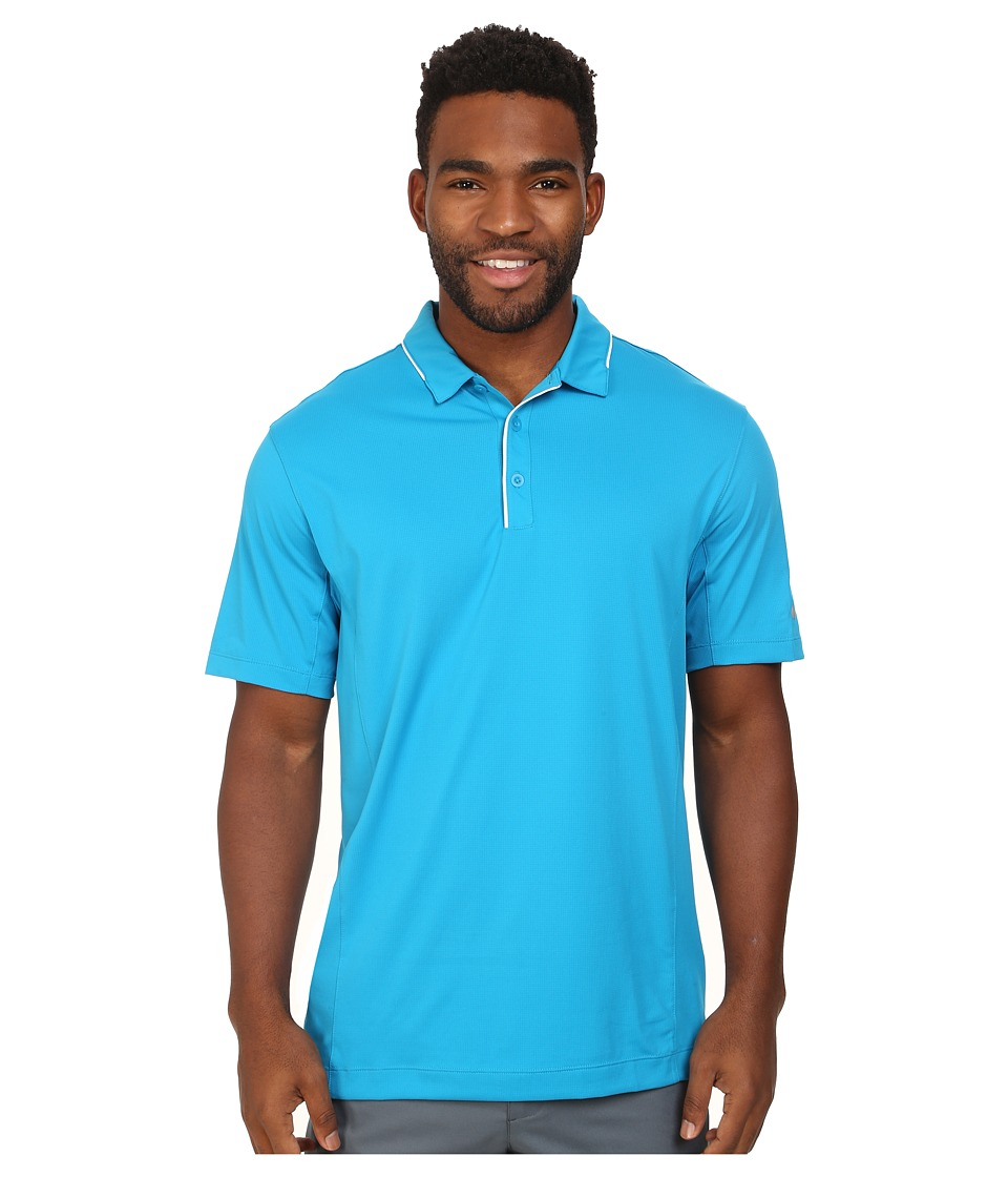 Nike Golf - Tech Tipped Polo (Light Blue Lacquer/White/Wolf Grey) Men's Short Sleeve Pullover