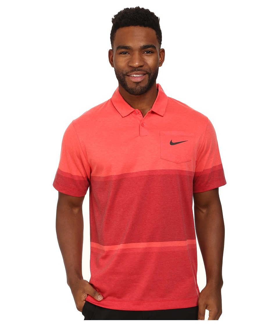 Nike Golf - Patch Pocket Polo (Daring Red/Anthracite) Men's Short Sleeve Pullover