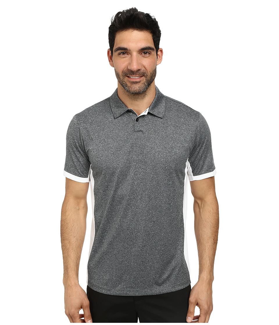 Nike Golf - Victory Block Polo (Black/Heather/White/Wolf Grey) Men's Short Sleeve Knit