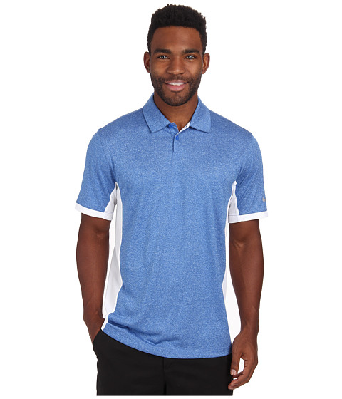 Nike Golf - Victory Block Polo (Game Royal/Heather/White/Wolf Grey) Men's Short Sleeve Knit