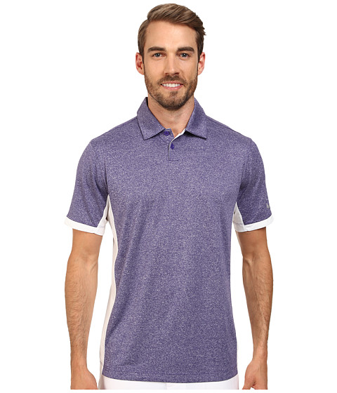 Nike Golf - Victory Block Polo (Court Purple/Heather/White/Wolf Grey) Men's Short Sleeve Knit