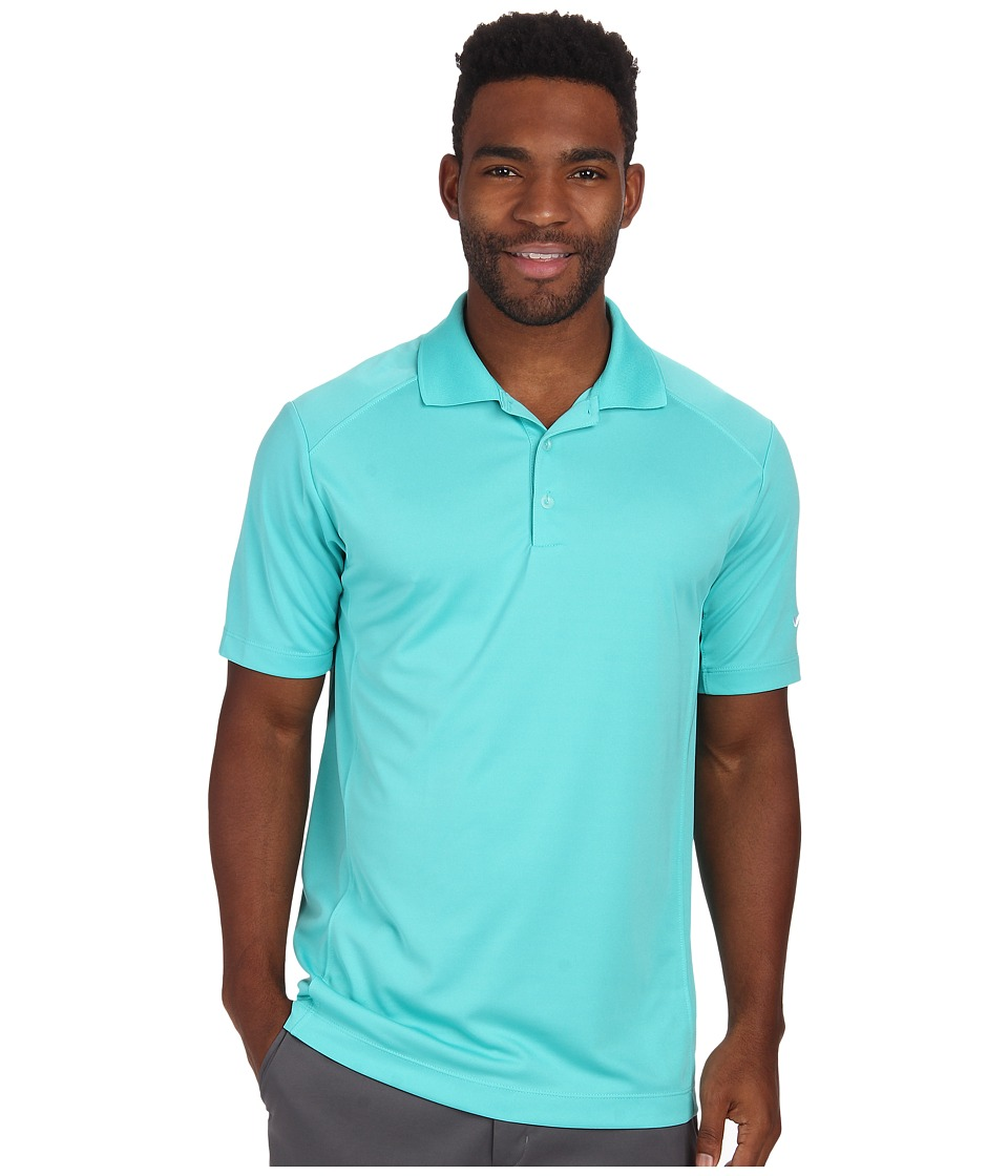 Nike Golf - Nike Victory Polo (Light Retro/White) Men's Short Sleeve Pullover