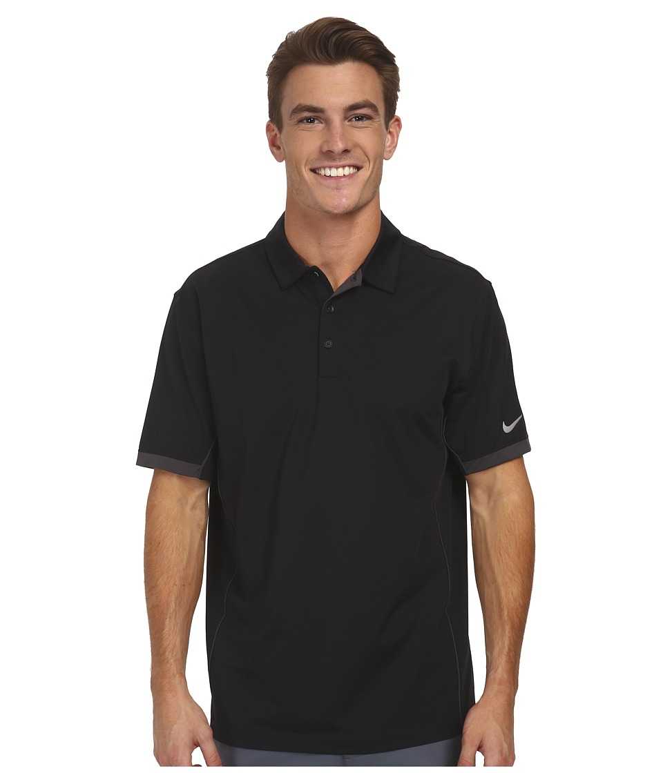 Nike Golf - Tech Ultra Polo (Black/Night Stadium/Wolf Grey) Men's Short Sleeve Knit