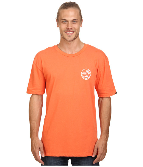 Vans - Mini Palms Tee (Tigerlily) Men's T Shirt