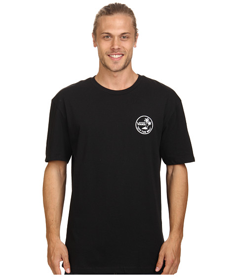 Vans - Mini Palms Tee (Black) Men's T Shirt
