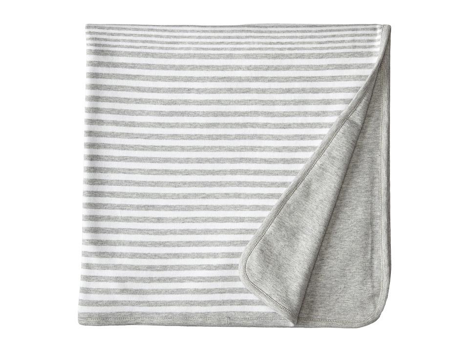 Vince Kids - Stripe Blanket (Heather Steel) Accessories Travel
