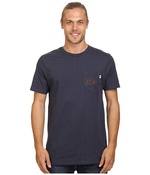 Vans - JT Sunset Pocket Tee (Navy) Men