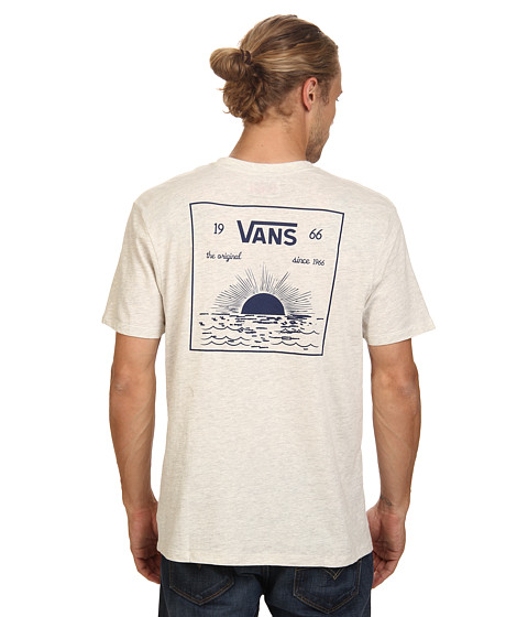 Vans - JT Sunset Pocket Tee (Oatmeal Heather) Men's T Shirt