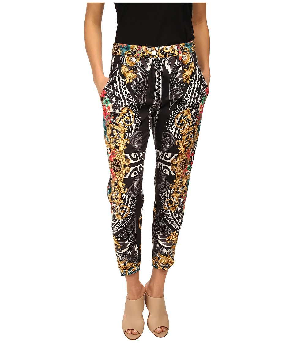 Versace Collection - Printed Trouser (Nero Print) Women's Clothing