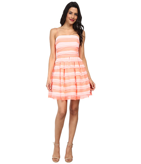 ERIN erin fetherston - Azalea Dress (Electric Guava) Women's Dress