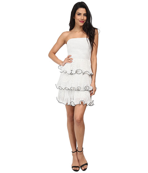 ERIN erin fetherston - Sweetpea Dress (Black/White) Women's Dress