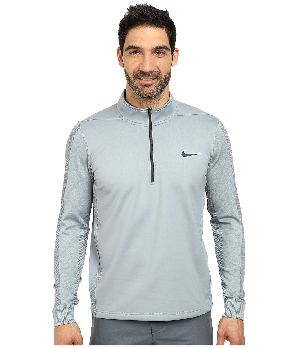 Nike Golf - Therma-Fit Engineer 1/2-Zip Top (Dove Grey/Dove Grey/Anthracite) Men