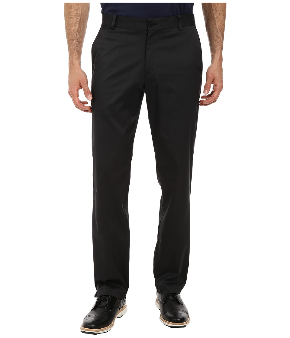 Nike - Flat Front Pant (Black/Black) Men's Casual Pants