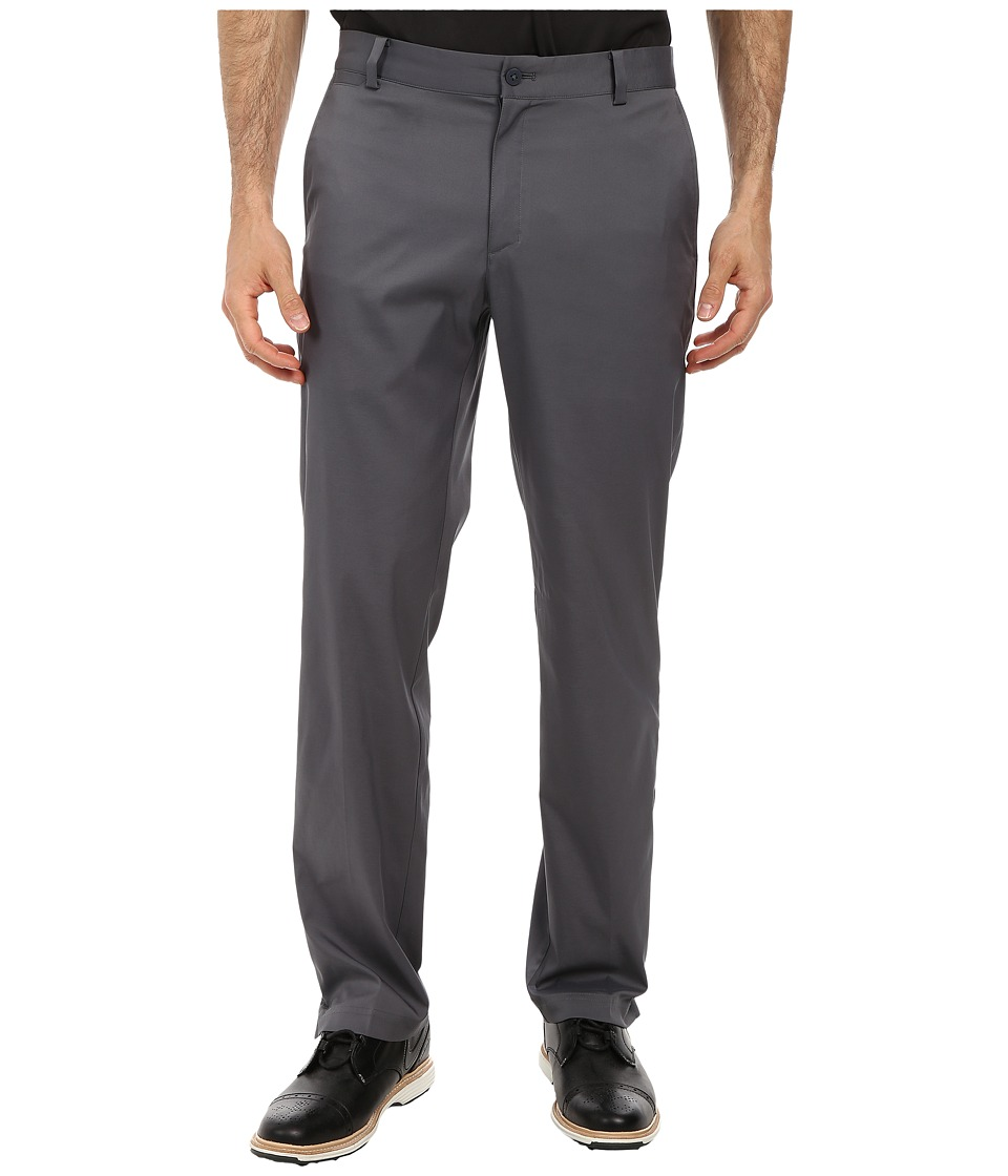 Nike - Flat Front Pant (Dark Grey/Dark Grey) Men's Casual Pants