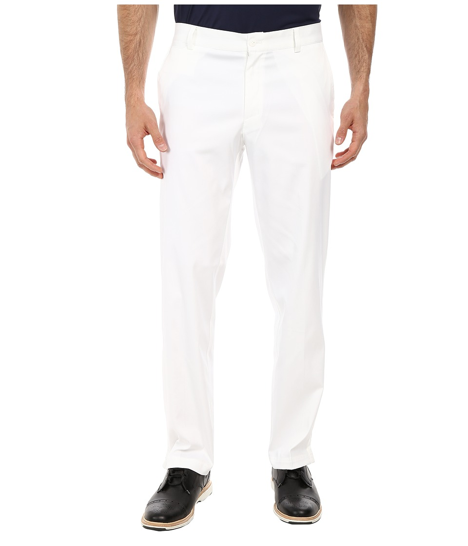 Nike - Flat Front Pant (White/White) Men's Casual Pants