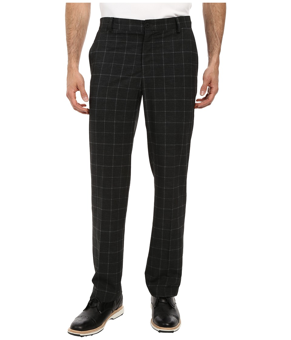 Nike Golf - Plaid Pant (Black/Black/Anthracite) Men