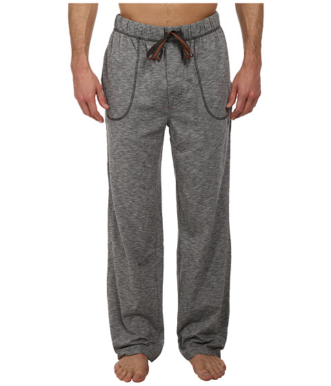 Tommy Bahama - Marled Jersey Lounge Pant (Black) Men