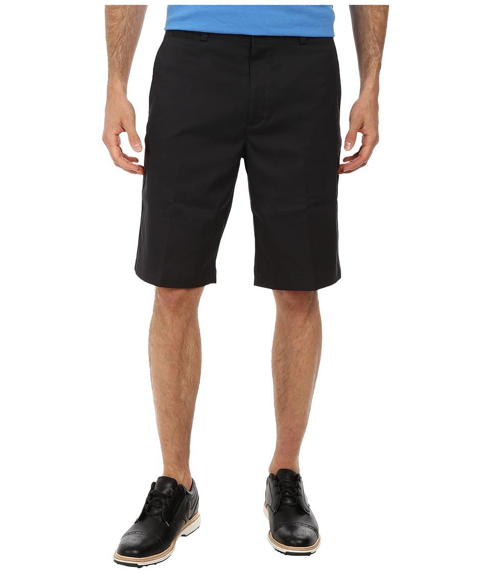 Nike - Flat Front Short (Black/Black/Black) Men's Shorts