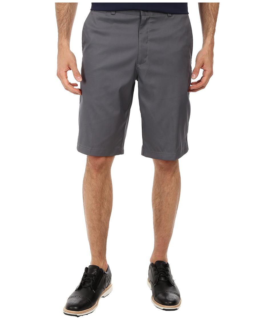 Nike - Flat Front Short (Dark Grey/Dark Grey/Dark Grey) Men's Shorts