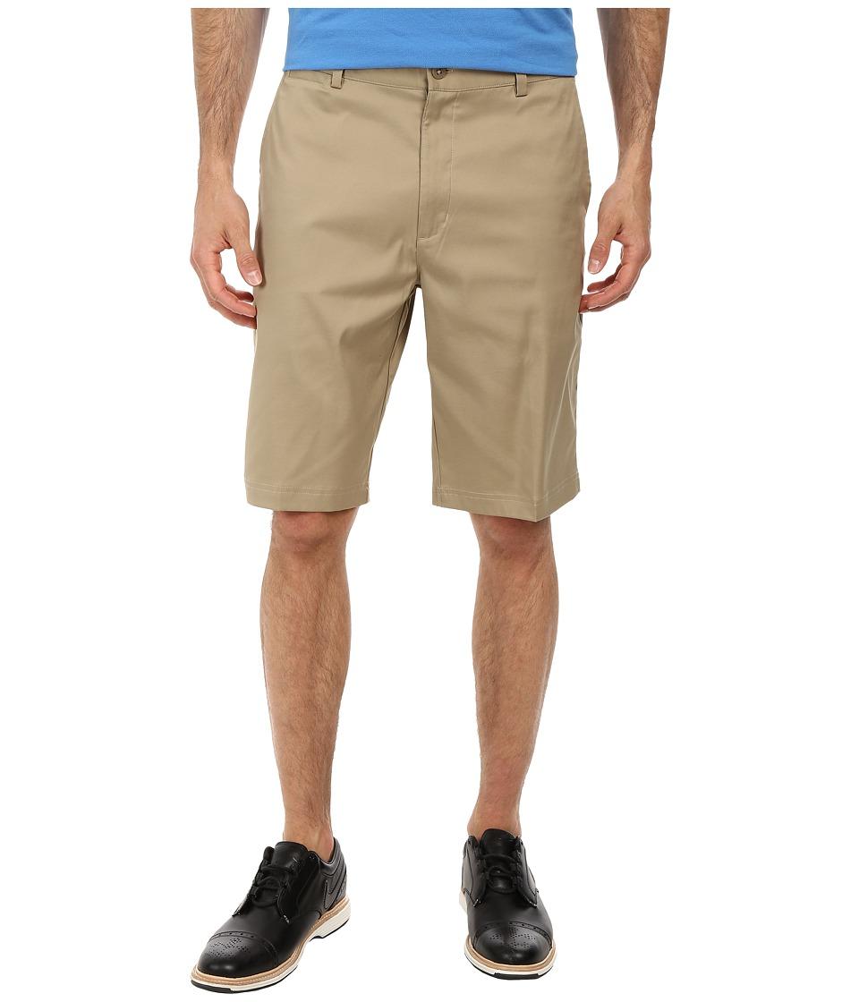 Nike - Flat Front Short (Khaki/Khaki/Khaki) Men's Shorts