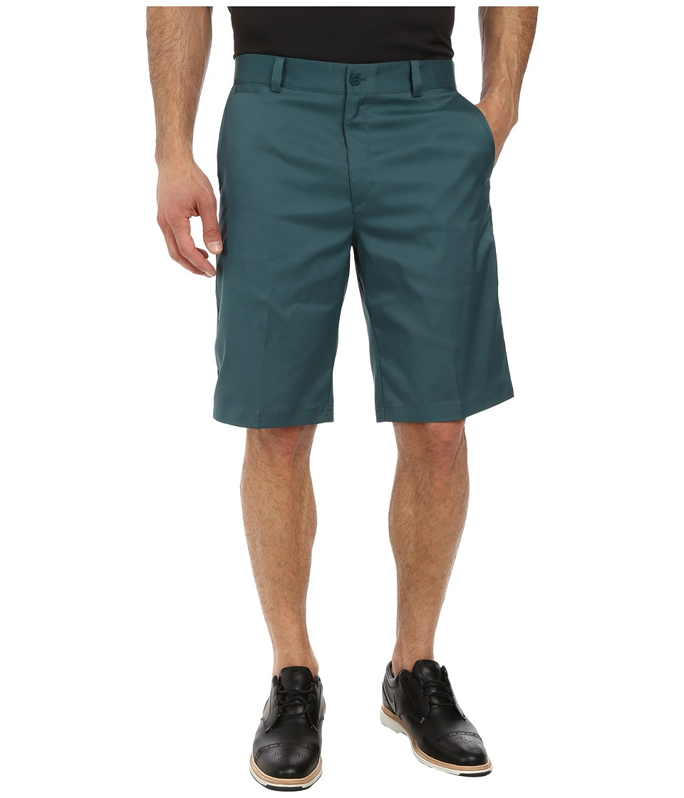 Nike Golf - Flat Front Short (Dark Emerald/Dark Emerald/Dark Emerald) Men's Shorts