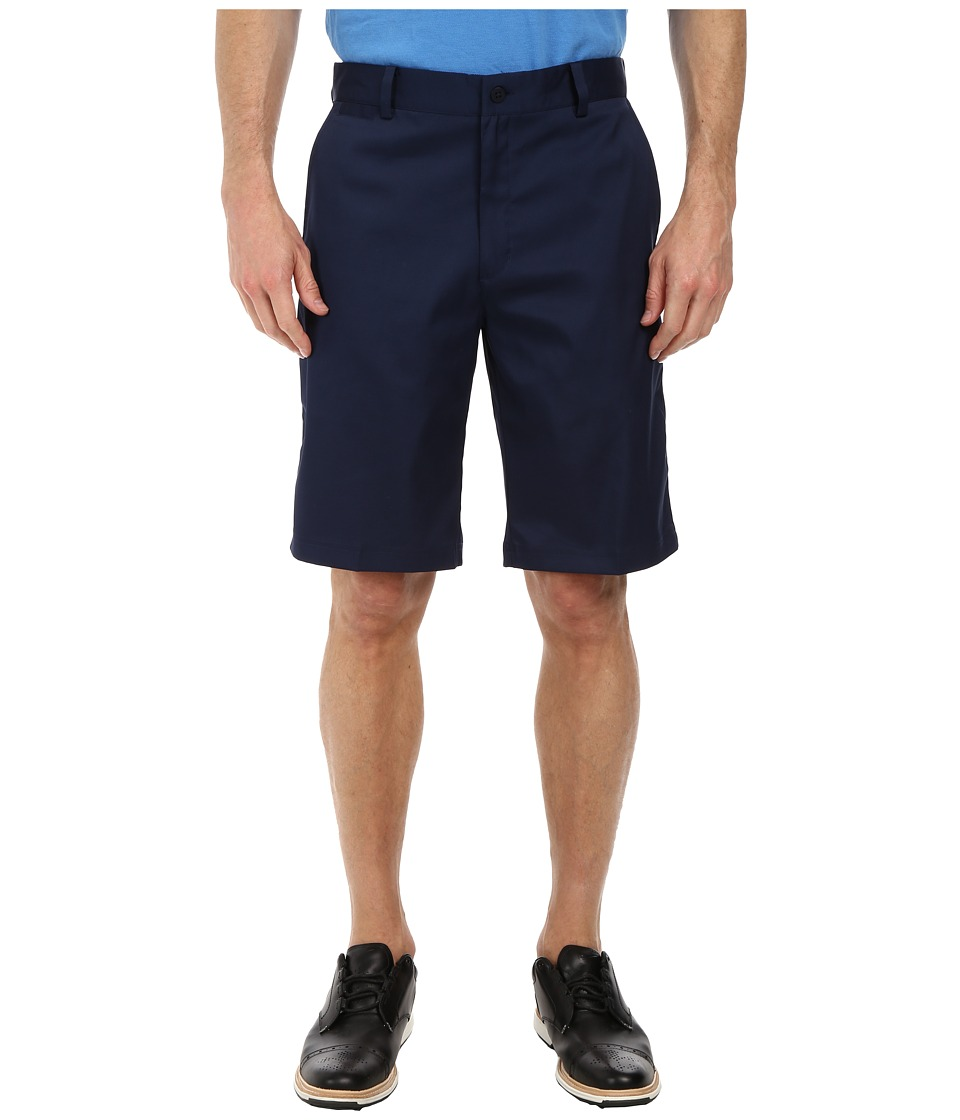 Nike Golf - Flat Front Short (College Navy/College Navy/College Navy) Men's Shorts