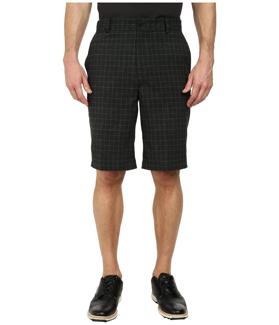 Nike Golf - Plaid Short (Black/Black/Anthracite) Men's Shorts