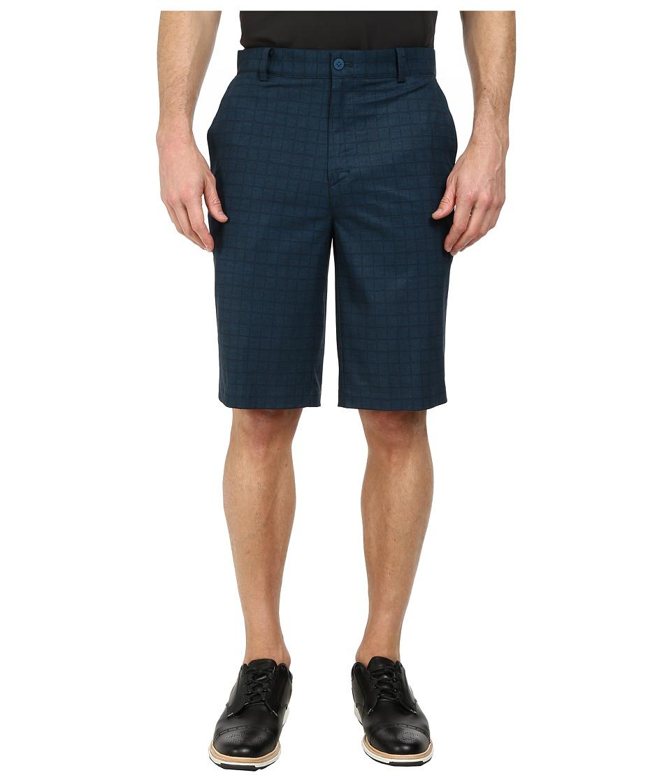 Nike Golf - Plaid Short (Blue Force/Blue Force/Anthracite) Men's Shorts