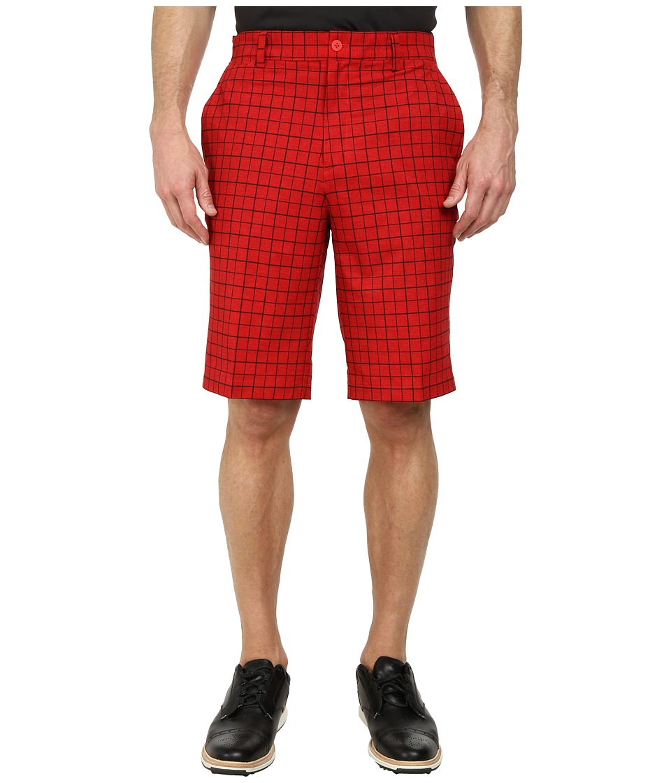 Nike Golf - Plaid Short (Daring Red/Daring Red/Anthracite) Men's Shorts