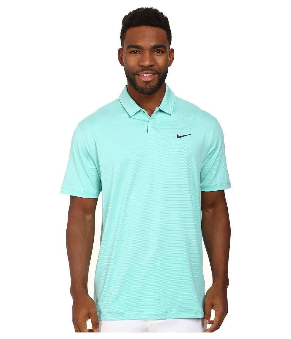 Nike Golf - Control Stripe Polo (Light Retro/Anthracite) Men's Short Sleeve Knit