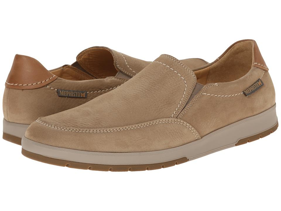 Mephisto - Leo (Taupe Sportbuck/Hazelnut Mano) Men's Shoes
