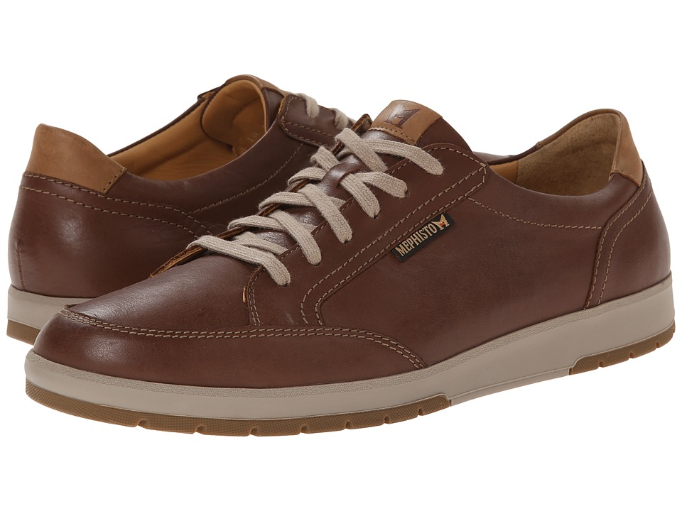 Mephisto - Ludo (Chestnut/Hazelnut Mano) Men's Lace up casual Shoes