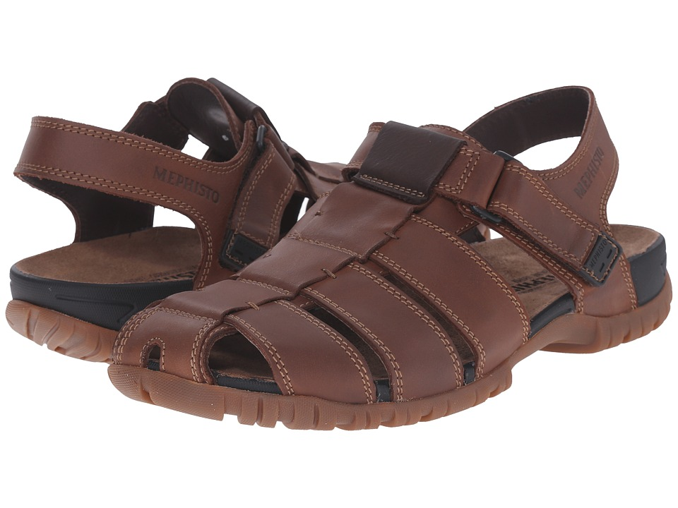 Mephisto - Basile (Chestnut/Dark Brown Grizzly) Men