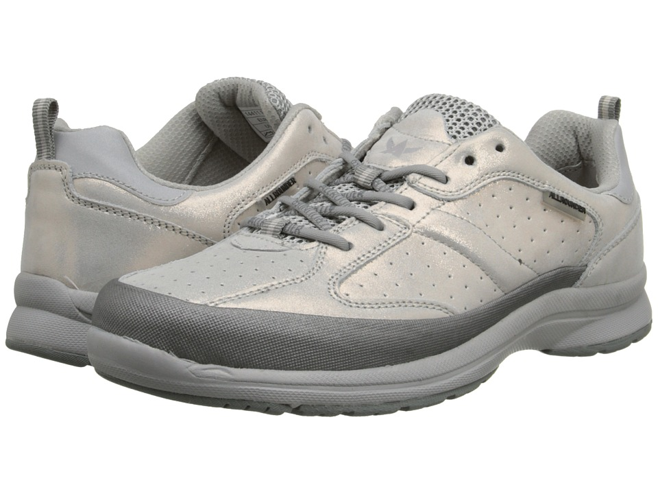 Allrounder by Mephisto - Dalina (Silver Tech Nubuck/Ice Argento) Women's Shoes