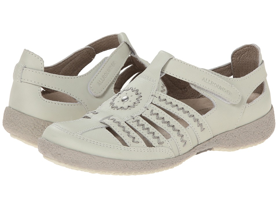 Allrounder by Mephisto - Galina (White Smooth) Women's Shoes