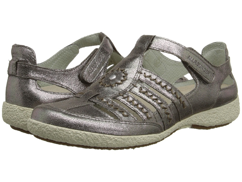 Allrounder by Mephisto Galina (Graphite Metallic Leather) Women