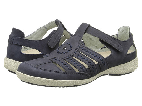 Allrounder by Mephisto - Galina (Ocean Nubuck) Women's Shoes
