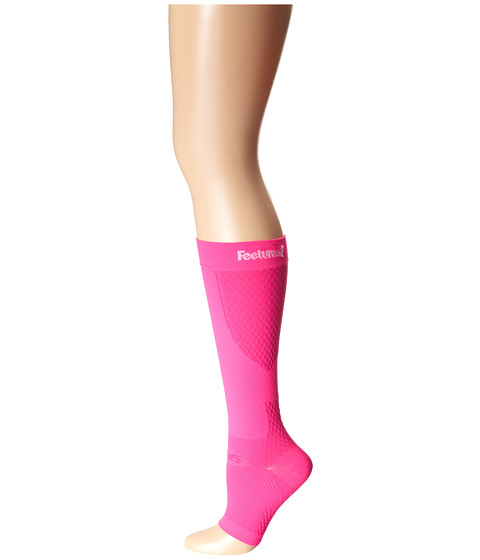 Feetures - PF Calf Sleeve Pair (Electric Pink) Knee High Socks Shoes