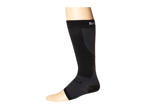 Feetures - PF Calf Sleeve Pair (Black) Knee High Socks Shoes