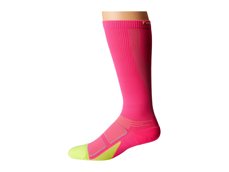 Feetures - Graduated Compression Knee High (Electric Pink) Knee High Socks Shoes
