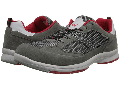 Allrounder by Mephisto - Calvaro (Grey Suede/Mesh) Men's Shoes