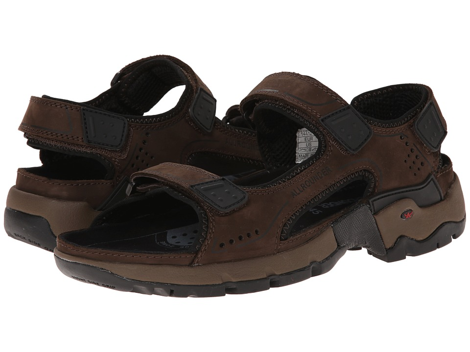 Allrounder by Mephisto - Adiago (Espresso Oiled Nubuck) Men's Sandals