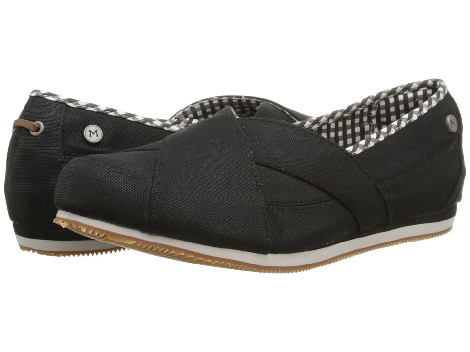 MOZO - Sport Picnic - Canvas (Black) Women's Shoes