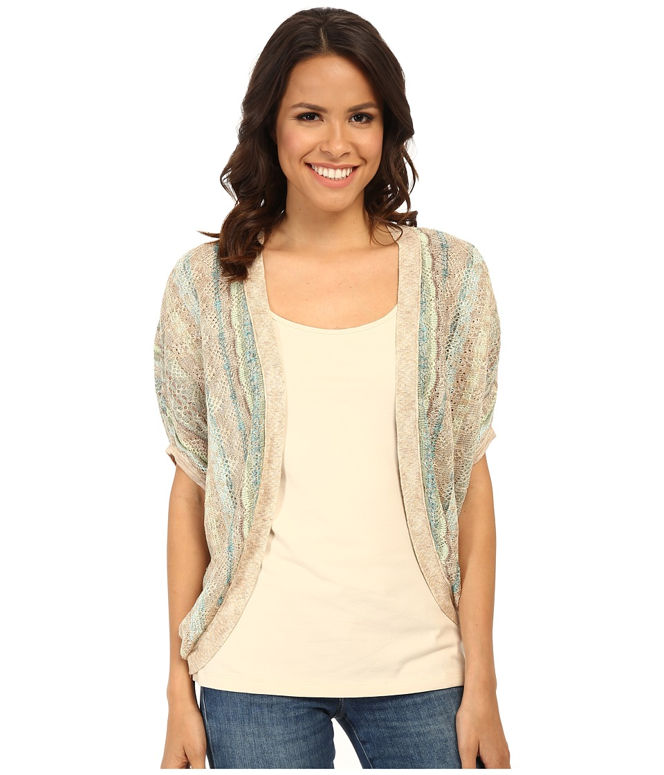 NIC+ZOE - Etched Cocoon Cardy (Multi) Women's Sweater