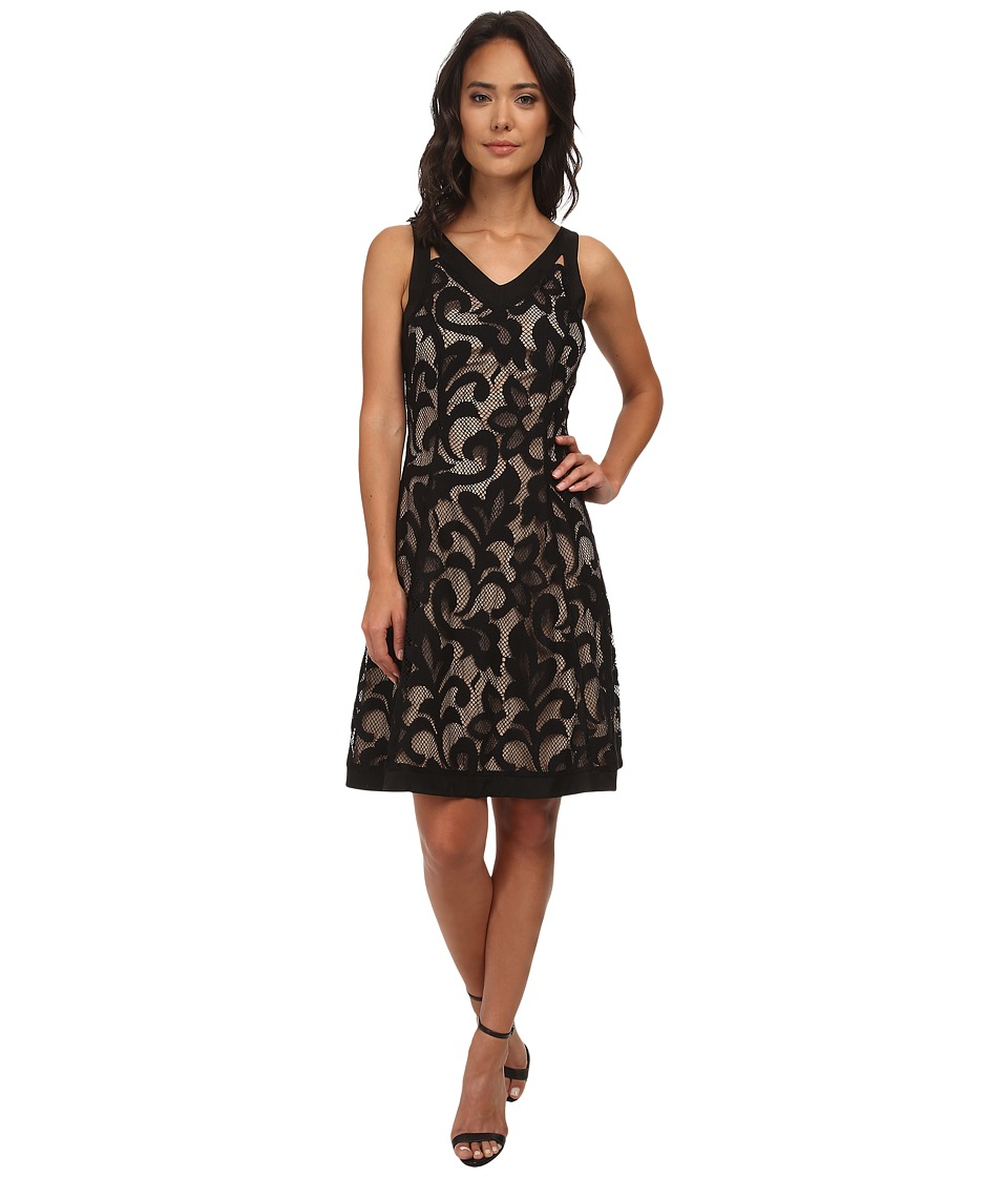 NIC+ZOE - Free Lace Dress (Black Onyx) Women's Dress