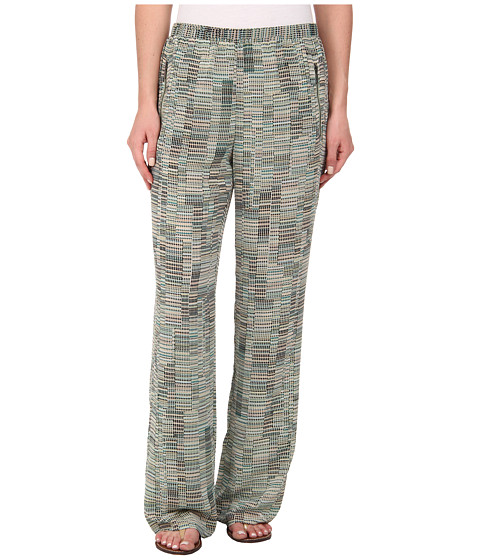 NIC+ZOE - Mixed Dots Easy Pant (Multi) Women